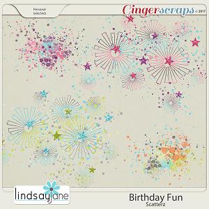 Birthday Fun Scatterz by Lindsay Jane