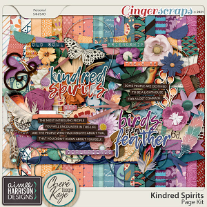 Kindred Spirits Page Kit by Aimee Harrison and Chere Kaye Designs