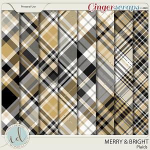 Merry & Bright Plaids by Ilonka's Designs