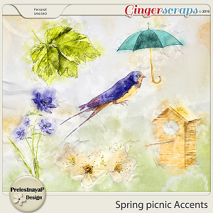 Spring picnic Accents