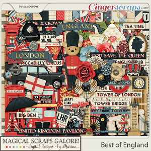Best of England (page kit)