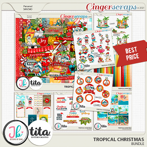 Tropical Christmas Bundle by JB Studio and Tita