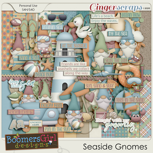 Seaside Gnomes by BoomersGirl Designs