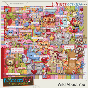 Wild About You by BoomersGirl Designs