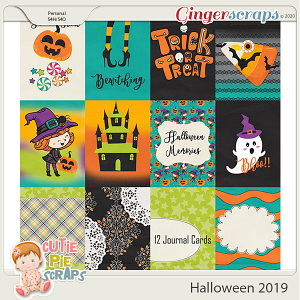 Halloween 2019-Journal Cards