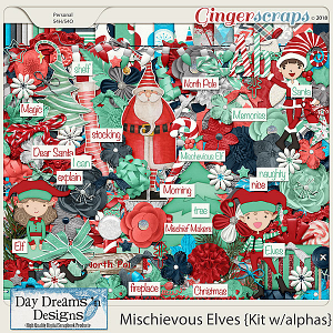 Mischievous Elves {Kit} by Day Dreams 'n Designs