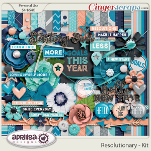 Resolutionary - Kit by Aprilisa Designs
