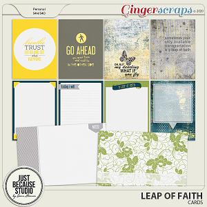 Leap Of Faith Cards by JB Studio