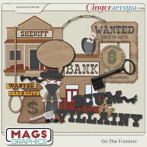 On The Frontier OUTLAWS Pack by MagsGraphics
