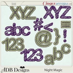 Night Magic Alphas by ADB Designs