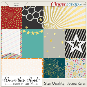 Star Quality | Journal Cards