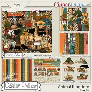 Animal Kingdom - Bundle by Connie Prince