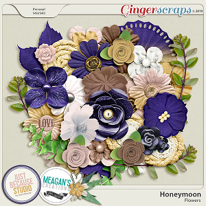 Honeymoon Flowers by JB Studio and Meagan's Creations