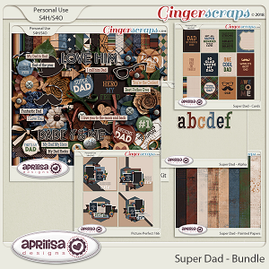 Super Dad - Bundle by Aprilisa Designs