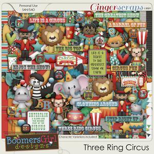 Three Ring Circus by BoomersGirl Designs