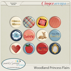 Woodland Princess Flairs
