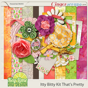 Itty Bitty Kit That's Pretty by Key Lime Digi Design