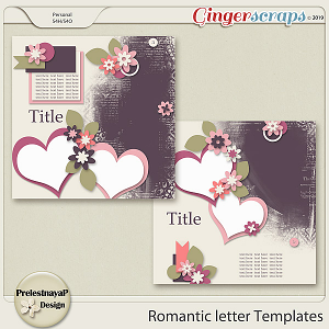 Romantic letter Templates