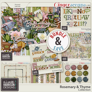 Rosemary and Thyme Collection by Aimee Harrison
