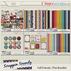Fall Friends {The Bundle}