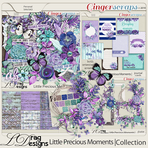 Little Precious Moments: The Collection by LDragDesigns