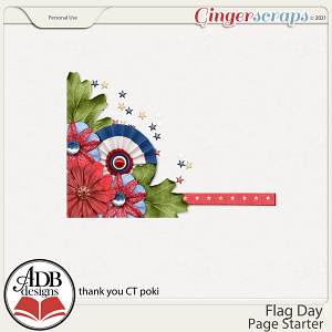 Flag Day Cluster Gift 02 by ADB Designs