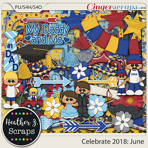 Celebrate 2018: June KIT by Heather Z Scraps