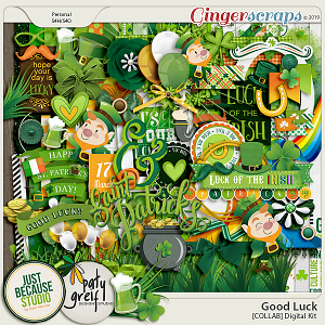 Good Luck Collab Digital Kit by JB Studio and Paty Greif