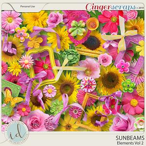 Sunbeams Vol 2 Elements by Ilonka's Designs