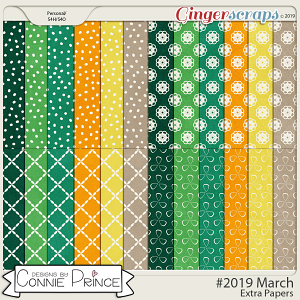 #2019 March - Extra Papers by Connie Prince