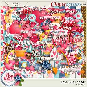 Love Is In The Air Page Kit by JB Studio