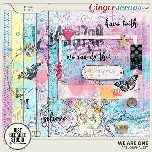 We Are One Art Journal Kit by JB Studio