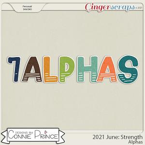 2021 June: Strength Bonus Alphas by North Meets South Studios