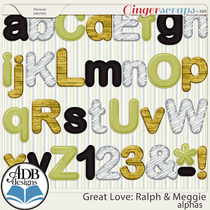 Great Love: Ralph & Meggie Alphas by ADB Designs