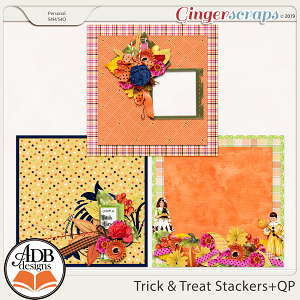 Trick and Treat Stackers and QP by ADB Designs