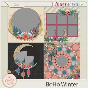 The Cherry On Top:  BoHo Winter Templates