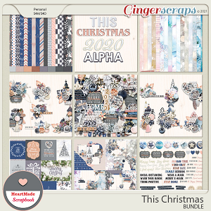 This Christmas - bundle by HeartMade Scrapbook