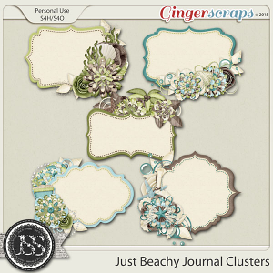 Just Beachy Journal Clusters
