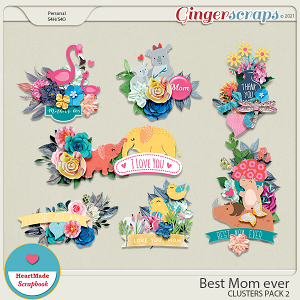 Best Mom ever - clusters pack 2