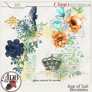 Age of Sail Blendables by ADB Designs