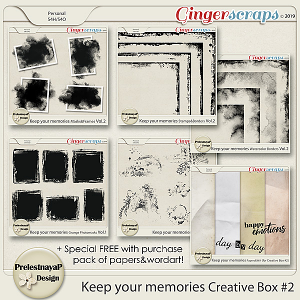 Keep your memories Creative Box #2