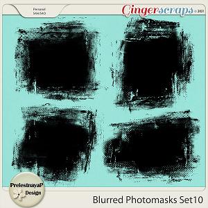 Blurred Photomasks Set10