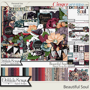 Beautiful Soul Digital Scrapbooking Bundle