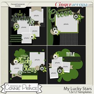 My Lucky Stars - 12x12 Temps (CU Ok) by Connie Prince