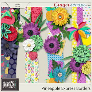 Pineapple Express Borders by Aimee Harrison
