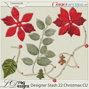 Designer Stash 22 Christmas by LDragDesigns