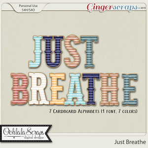 Just Breathe Alphabets