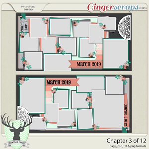 Chapter 3 of 12 Templates by Dear Friends Designs