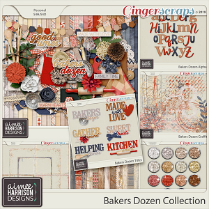 Bakers Dozen Collection by Aimee Harrison