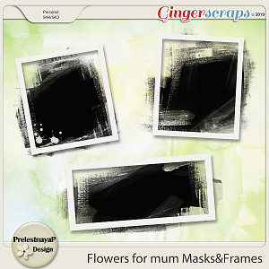 Flowers for mum Masks&Frames